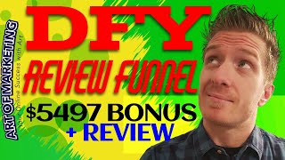 DFY Review Funnel Review, Demo, $5497 Bonus, DFYReviewFunnel Review