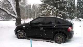 Львов- Первый День Снегопадов Ч.1