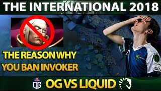 Reason Why You Should Ban Invoker vs Liquid - Miracle Invoker Perspective - EPIC GAME! Dota 2 #TI8
