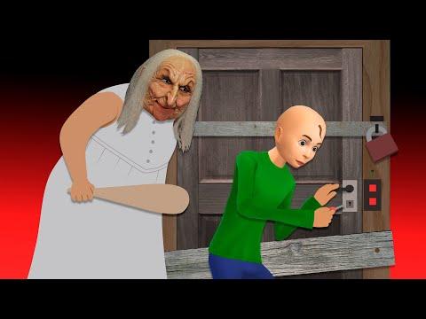 Как бабка Гренни не выпускала Балди на улицу Все серии Страшилки Мультики