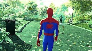 Spider Man Enters A Different Verse In Spider Verse Suit