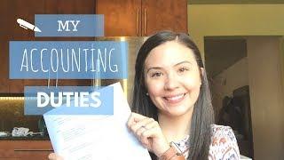 My Accounting Duties   What Do Accountants Do?  