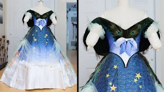 Making A Charles Worth Peacock Gown | Part Three