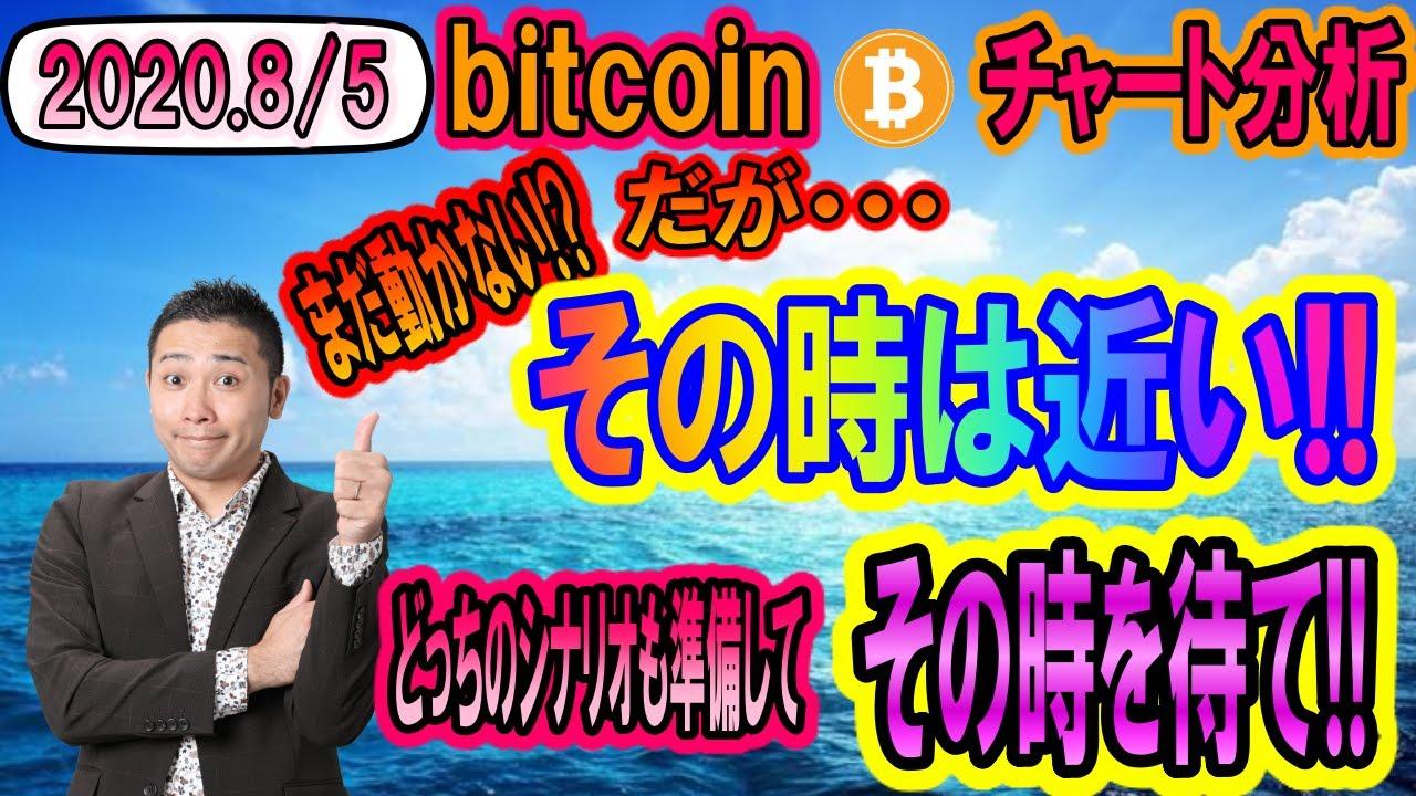 【仮想通貨】ビットコイン相場分析 まだ動かない!!だが・・・動くときは大きいぞ!!どっちのシナリオも頭に入れて準備しろ!! #ビットコイン #BTC #仮想通貨