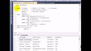 4-Tables JOIN - SQL Server 2012