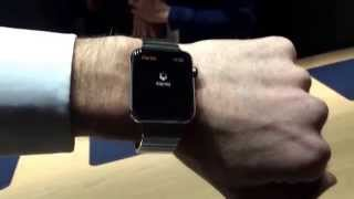 Apple Watch in steel, hands-on: coming April 24