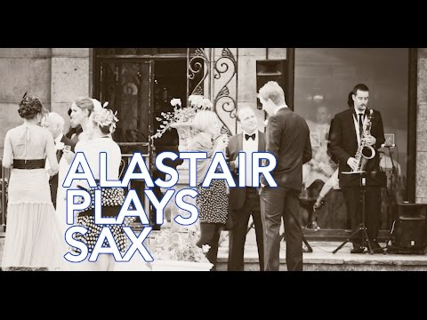 Alastair Plays Sax Video