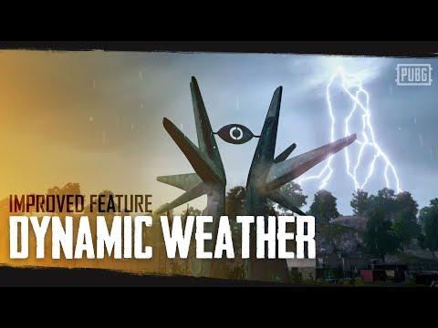 PUBG新天氣系統