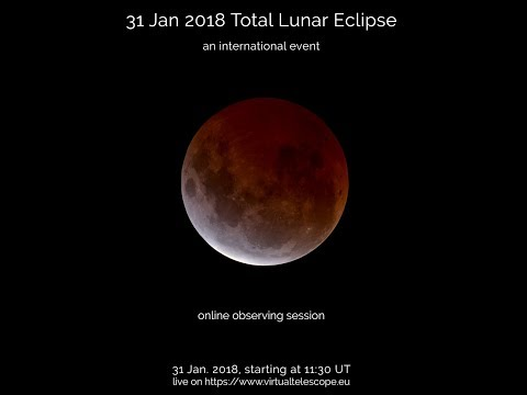 Watch The Super Blue Blood Moon Live Stream Here!