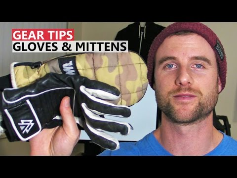 Tips for Buying Snowboard Gloves & Mittens