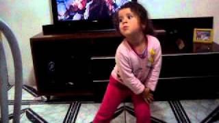 Bia dançando Vasco