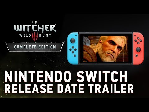 The Witcher 3: Wild Hunt – Complete Edition | Nintendo Switch Release Date Trailer thumbnail