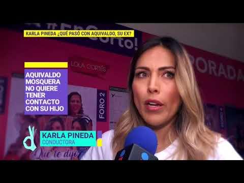 ¡Karla Pineda asegura que su ex Aquivaldo Mosquera cometió un crimen! | De Primera Mano