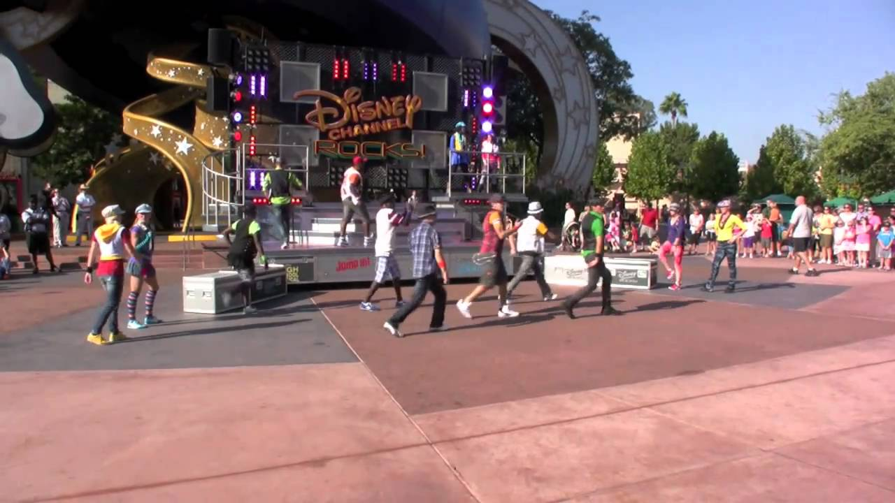 Disney Channel Rocks! - Opening performance