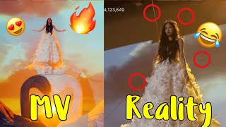 BLACKPINK - 'KILL THIS LOVE'  MV VS REALITY