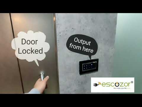 Access Control With Magnetic Door Lock