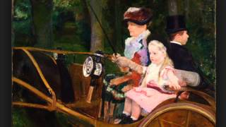 A Woman and a Girl Driving (Cassatt)
