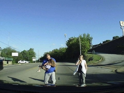 Dashcam Video Captures 4-Year-Old's Fall Off Bus