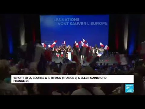 Le Pen launches her European election bid