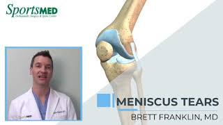 MENISCUS INJURIES: Common Symptoms and Treatment Options for Knee Pain - Dr. Brett Franklin