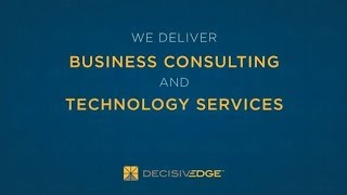 DecisivEdge Introduction Video