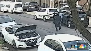 Shocking Video Shows Disguised Killer Shoot Man