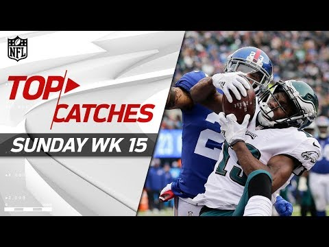 Top Catches from Sunday | NFL Week 15 Highlights