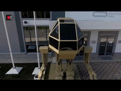 العرب اليوم - شاهد : الروبوت العسكري الروسي يثير السخرية على الإنترنت