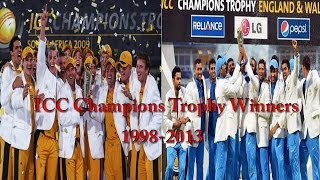 ICC Champions Trophy Winners All Time