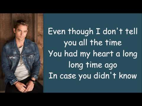 Brett Young ~ In Case You Didn't Know (Lyrics)