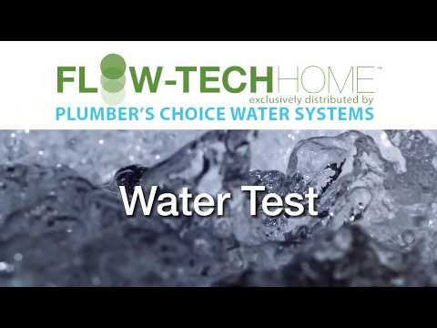 Flow-Tech Water Test