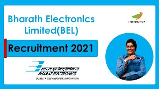 BEL Recruitment (Project Engineer, Technician) 2021   Bharath Electronics Limited Jobs Notification