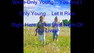 Bowling For Soup - Only Young (Lyric and Picture Video)