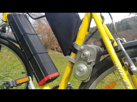 Homemade Electric Bike with 3D Printed Parts