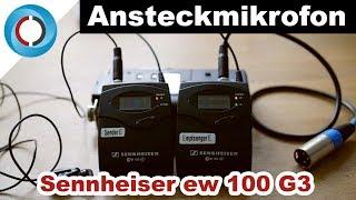 Ansteckmikrofon Sennheiser ew 100-ENG G3 | Ansteckmikrofon-Review | Lavalier-Mikrofon