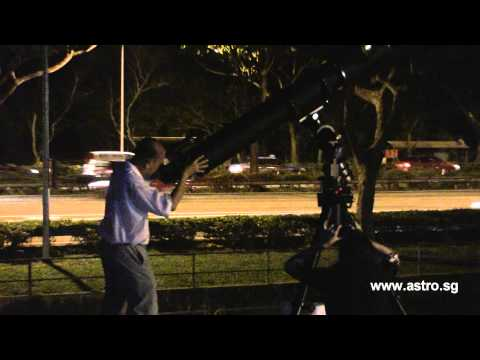 8 inch refractor ISTAR telescope in Singapore