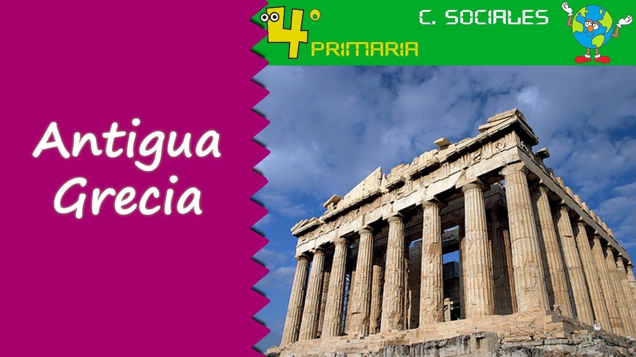 Ciencias Sociales. 4º Primaria. Tema 8. La civilización griega