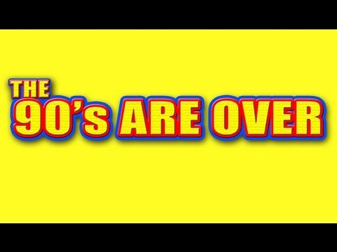 'THE 90's ARE OVER' - (Streets of Philadelphia Spoof) Lyrics from hit songs