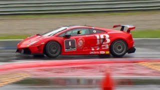 Racing In The Lamborghini Super Trofeo: The Race - Fifth Gear by Fifth Gear