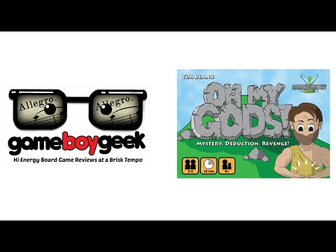 The Game Boy Geek's (Allegro) Review of Oh My gods