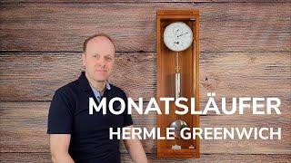 Hermle Greenwich 70875 Monatsläufer Präzisionspendeluhr - Test - Review. Die Sattler Alternative! 4K