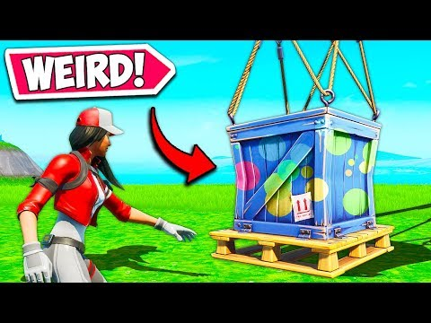 weirdest supply drop of all time fortnite funny fails and wtf moments 741