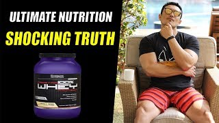 ULTIMATE NUTRITION (Supplement Company) Ka Sach [Is it really Good?]