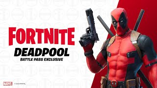 Hey you, Battle Pass owners, the moment everyone has been waiting for has arrived! You can now unlock Deadpool in the game.  Just complete a teeny tiny Challenge and he's yours. Complete it and you can play with him however you want.  Play Fortnite Battle Royale, the completely free 100-player PvP mode. One giant map, A Battle Bus, Last one standing wins. ESRB Rating: Teen with Violence.
