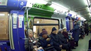 """Поезд метро """"интенсив XX"""""""
