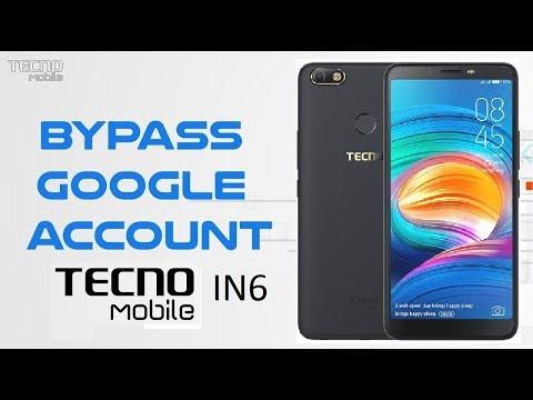 Techno In6 FRP Unlock (Oreo) Android-8 1 1 (Google Account Unlock