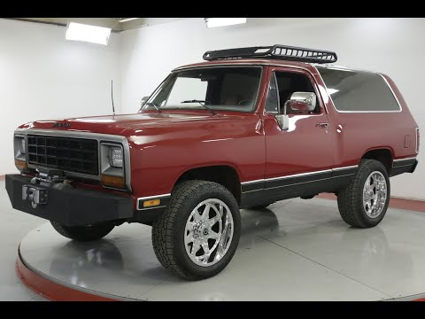 Video of '85 Ramcharger - Q4MQ
