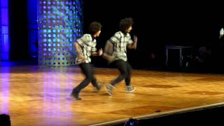 (LES TWINS) WORLD HIPHOP DANCE CHAMPIONSHIP 2013 LAS VEGAS