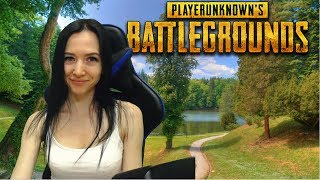 Девушка учится играть в Пубджи ► PUBG ►Playerunknown's battlegrounds