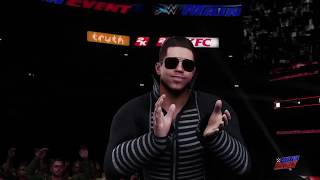 WWE 2K18 My personal Universe Mode Part 79 Main Event Surprising Win